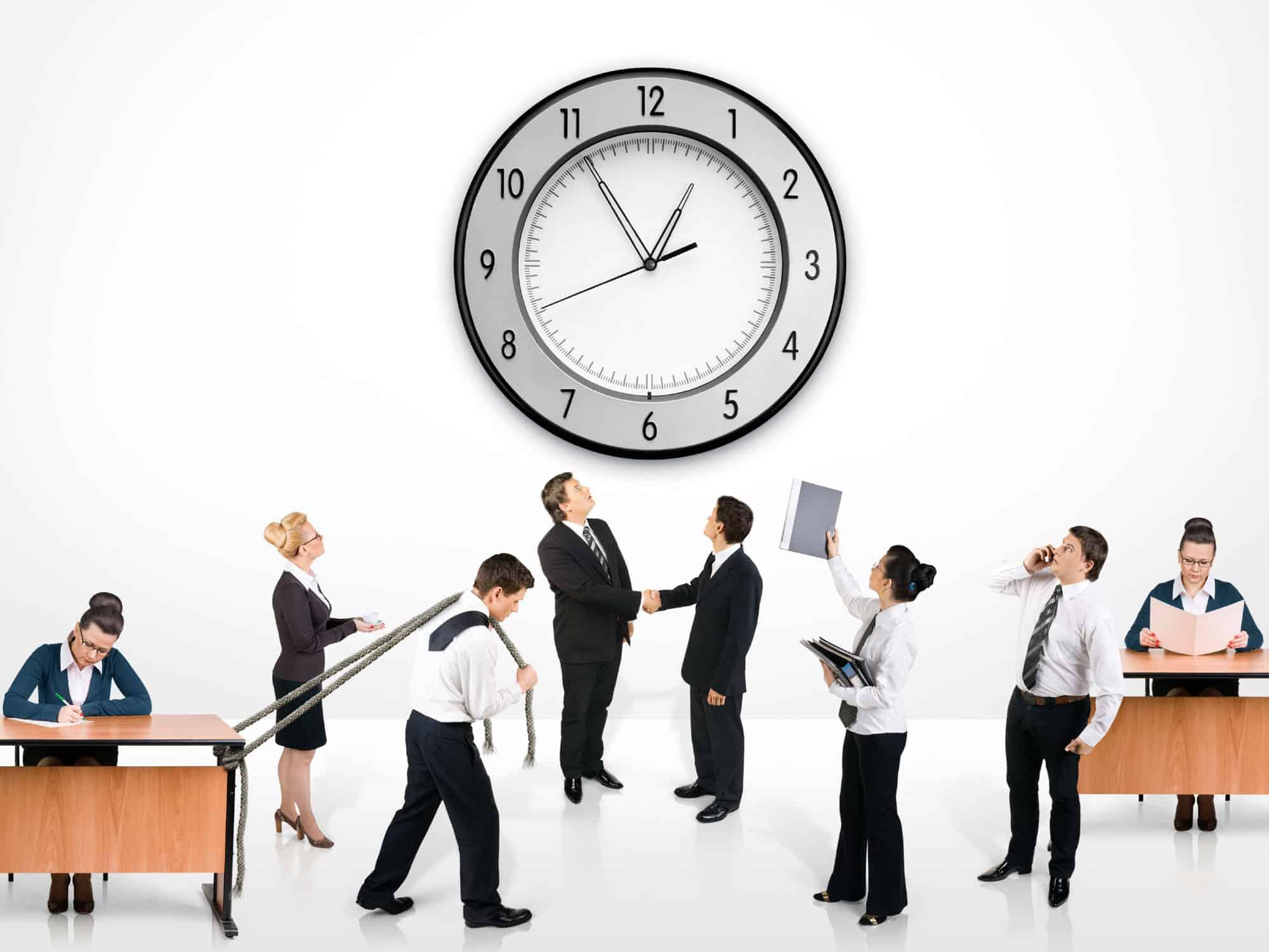 إدارة الوقت والأولويات